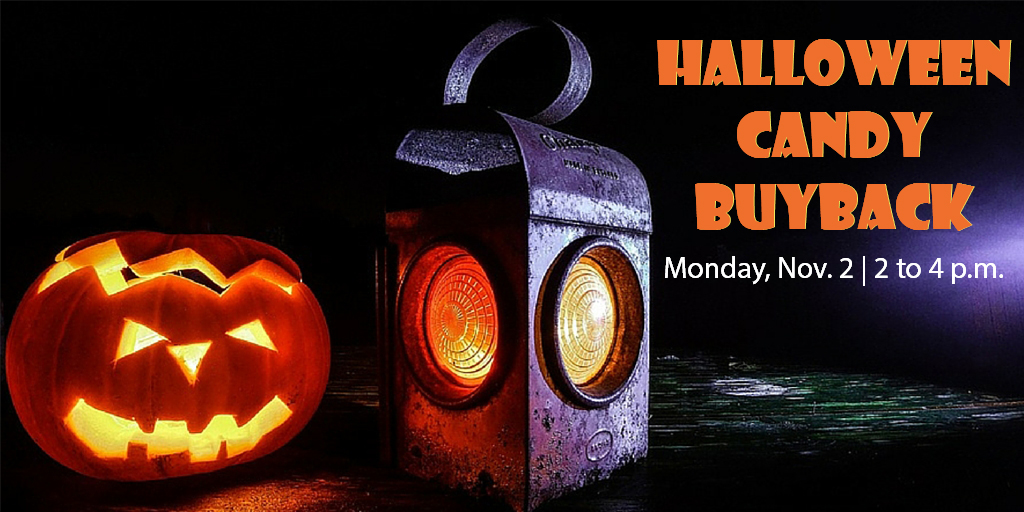 Halloween Candy Buyback Program from Lake County Dental Care
