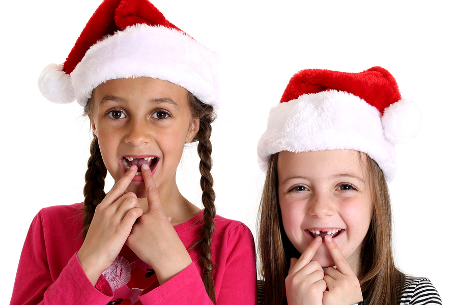 Make sure all Santa is bringing your kiddos is their two front teeth -- not an emergency trip to the dentist.