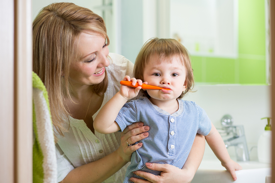 One of the most important skills you'll teach your children is how to brush and floss their teeth
