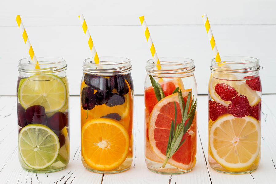 Fruit infused water is a wonderful and refreshing drink option for summer when the sun is out. If the kids are bored get theminvolved in crafting their favorite recipe.